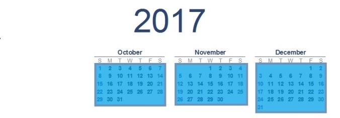 2017-calendar T2 092617