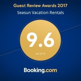 2017 Seasun Booking award