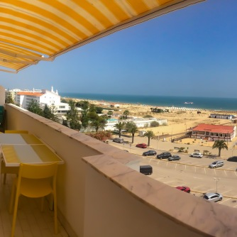 T1 Beach Varanda vista mar SUL